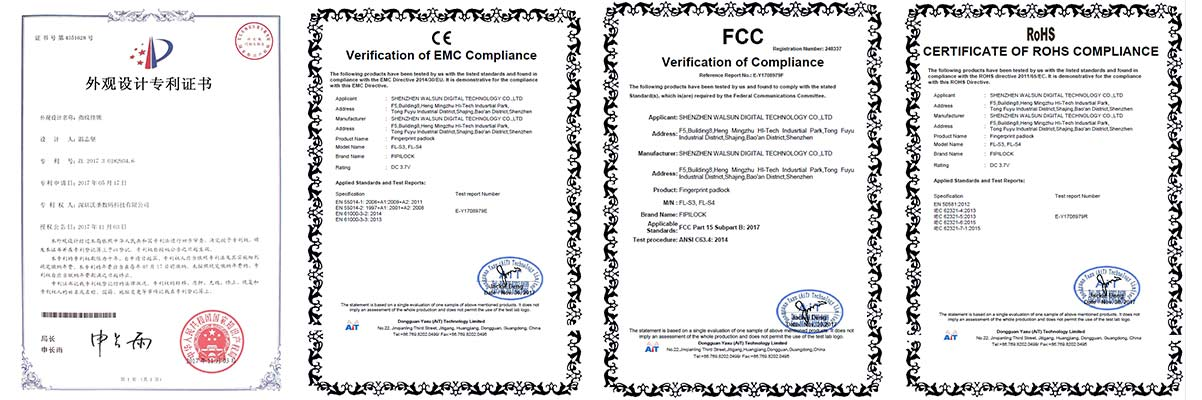 FL-S3 certifications