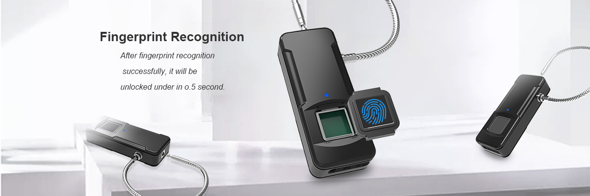 fingerprint recognition padlock
