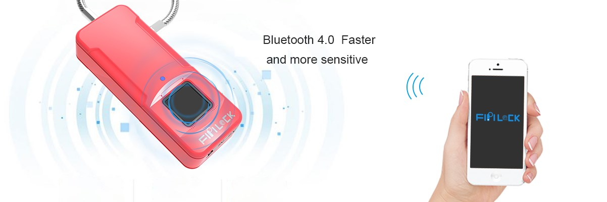 New Product Introduction- Bluetooth Fingerprint Padlock