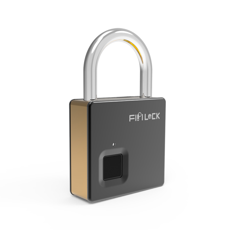 Heavy Security Fingerprint Padlock FL-S5(Gold)