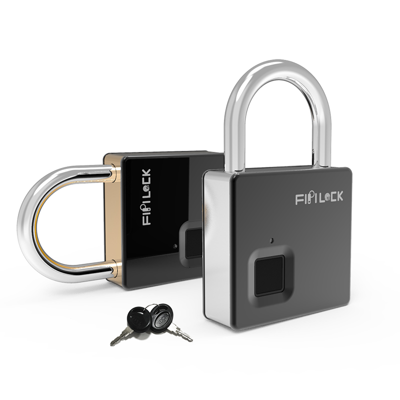 Heavy Security Fingerprint Padlock FL-S5(Silver)