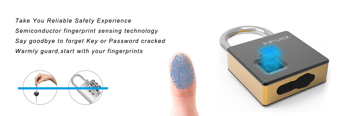 Semiconductor Fngerprint Identification Device In Fingerprint Lock
