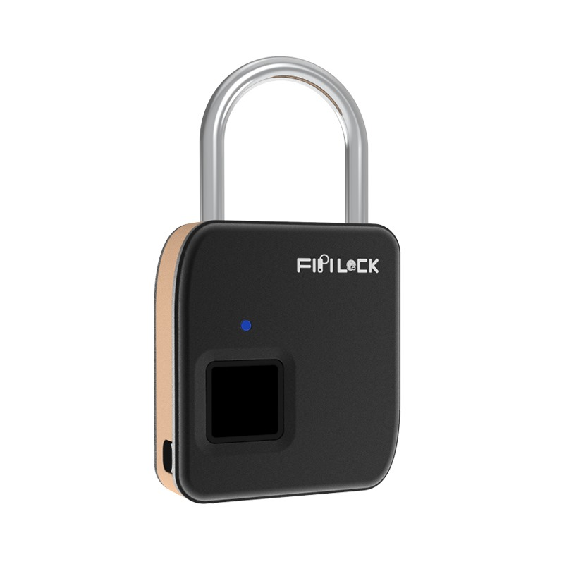 Keyless Smart Padlock   (Gold)
