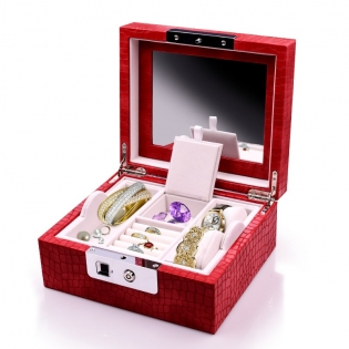 Customized Jewelry Box With Fingerprint Lock