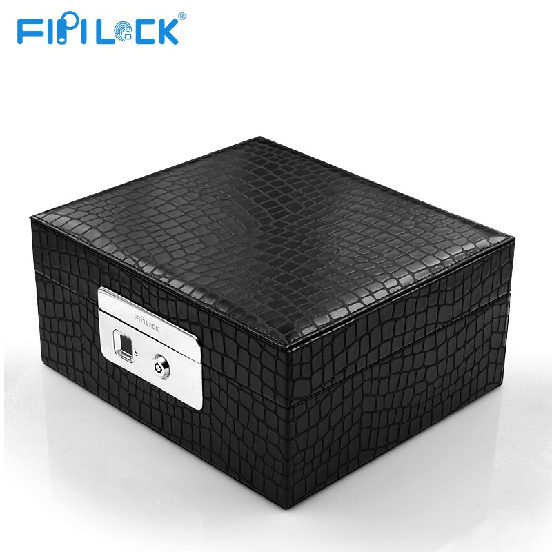 fingerprint jewelry box