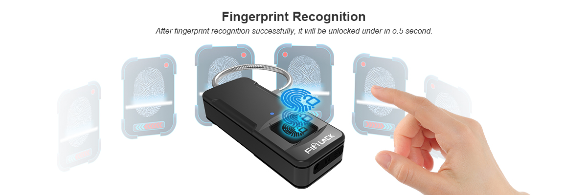 bluetooth fingerprint lock