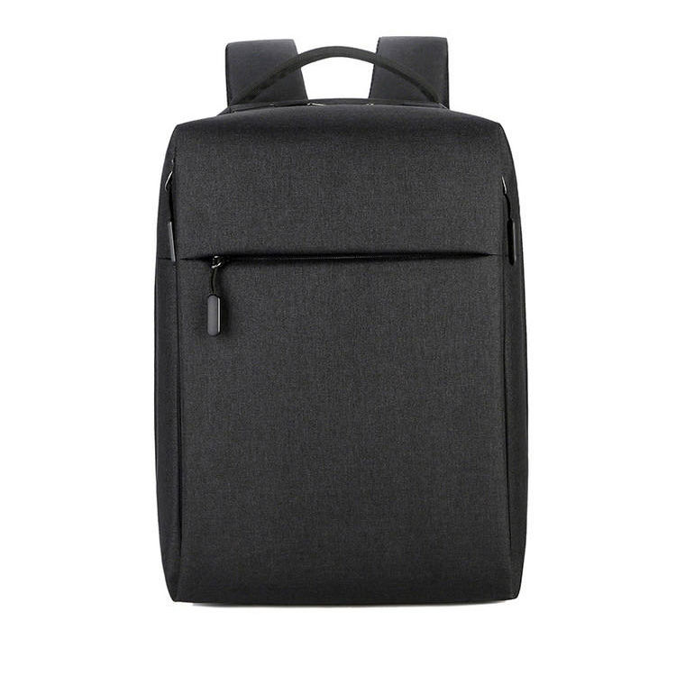 FL-V4 Waterproof nylon black men's business anti theft laptop backpack
